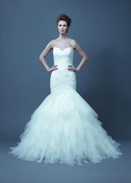 Enzoani Habika | Wedding/Boda | Pinterest | Bridal reflections ...