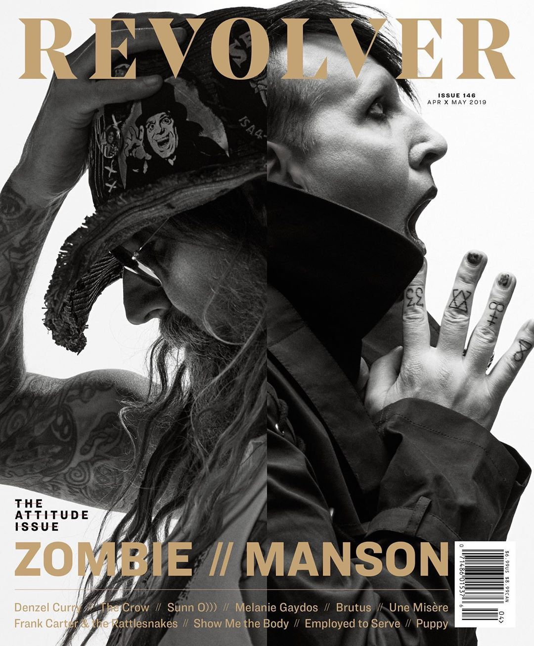 The Twins Of Evil Are Coming Your Way Robzombie Marilynmanson Cover Photo B Marilyn Manson Manson Rob Zombie