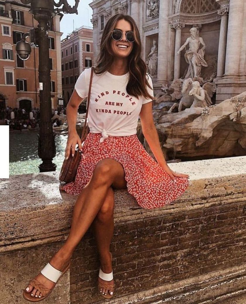 38 Beautiful Casual Summer Outfits Ideas You Must Try #summerlooks2019