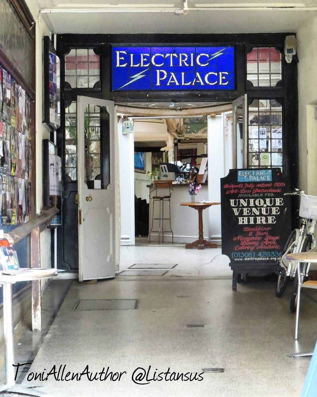 Entrance to the Electric Palace Bridport Dorset. Not only