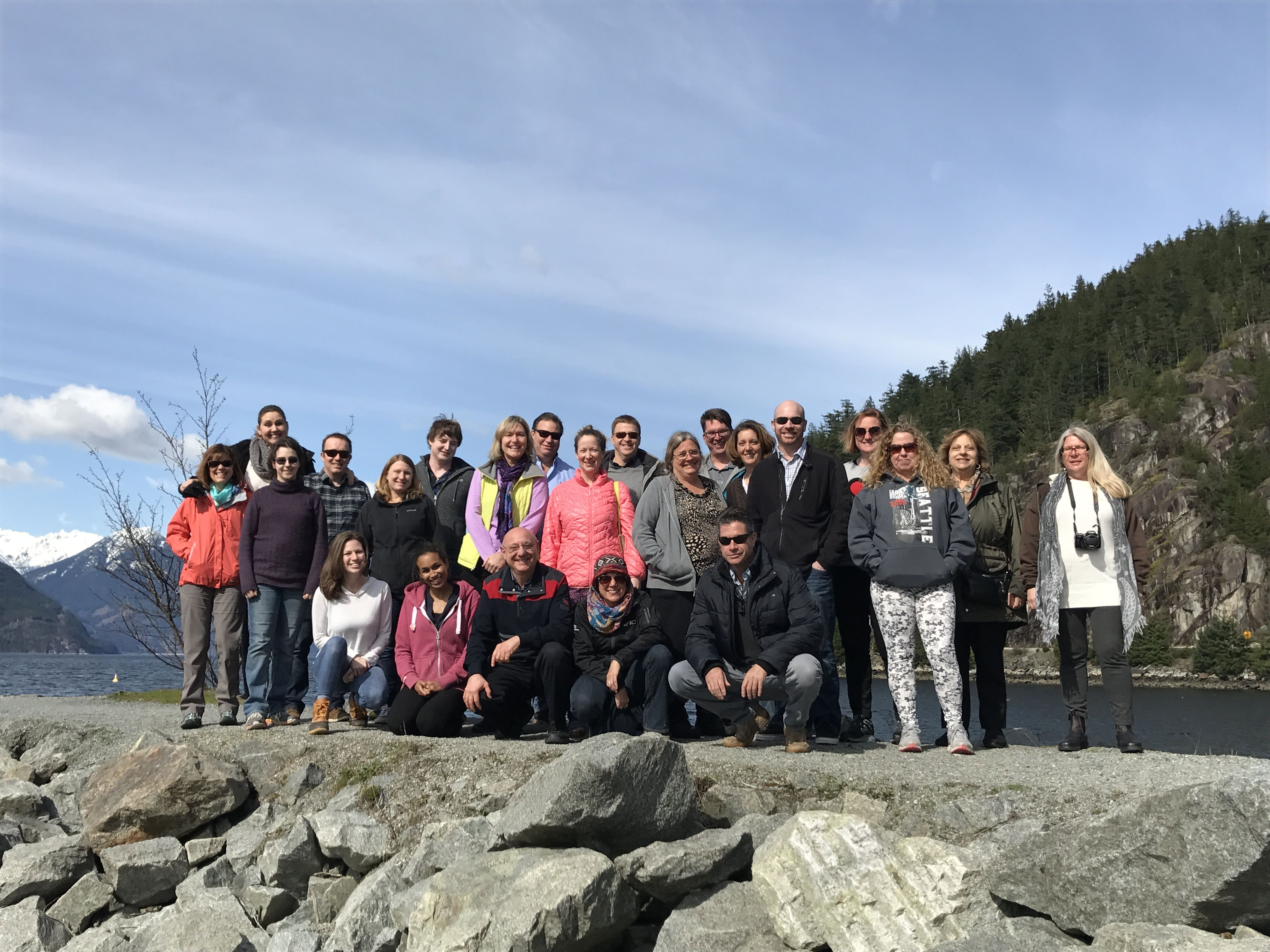 The RC Pet Products Sales Team is in Vancouver for our