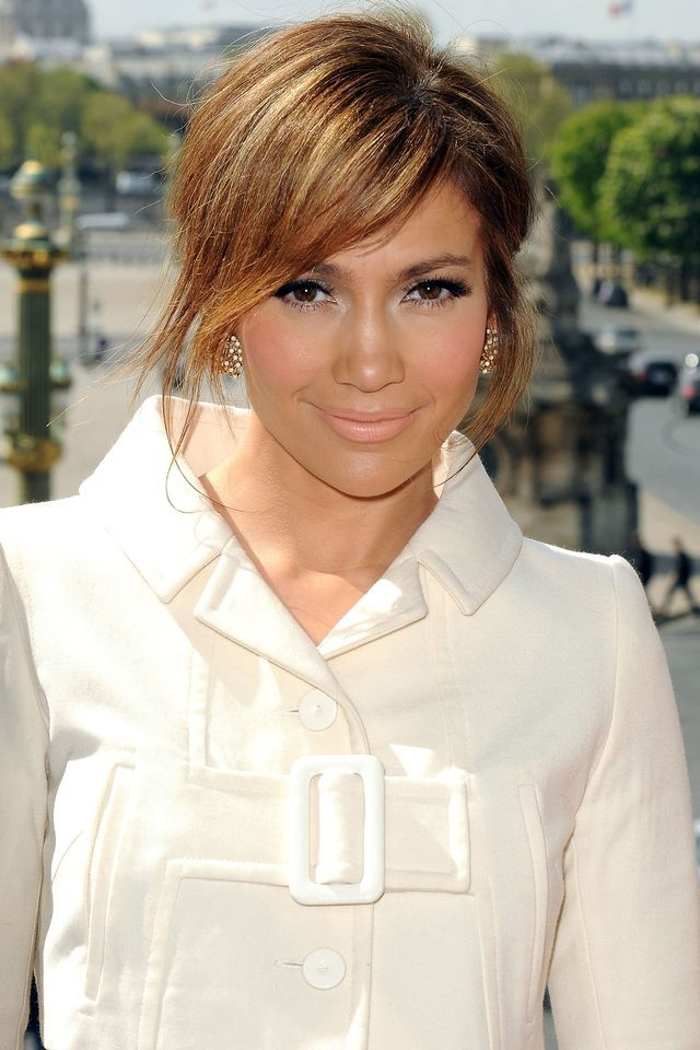 Paris April 26 Actrice Jennifer Lopez Poses During The Photocall