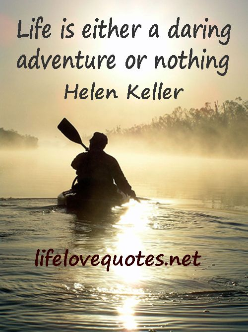 life is an adventure quotes