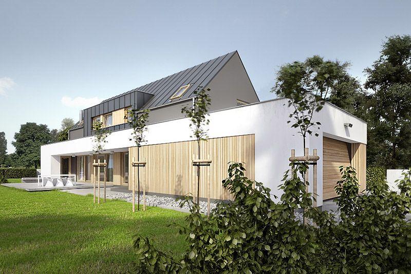 Dom jednorodzinny w Tulcach koło Poznania Projekt CONDE