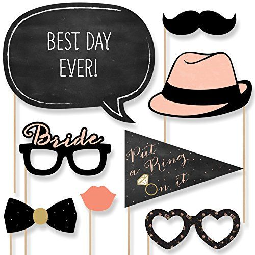 Best Day Ever - Bridal Shower Photo Booth Props Kit - 20 Count Big Dot of Happiness http://www.amazon.com/dp/B00UKCI9XI/ref=cm_sw_r_pi_dp_f5bnvb0J0T8KB