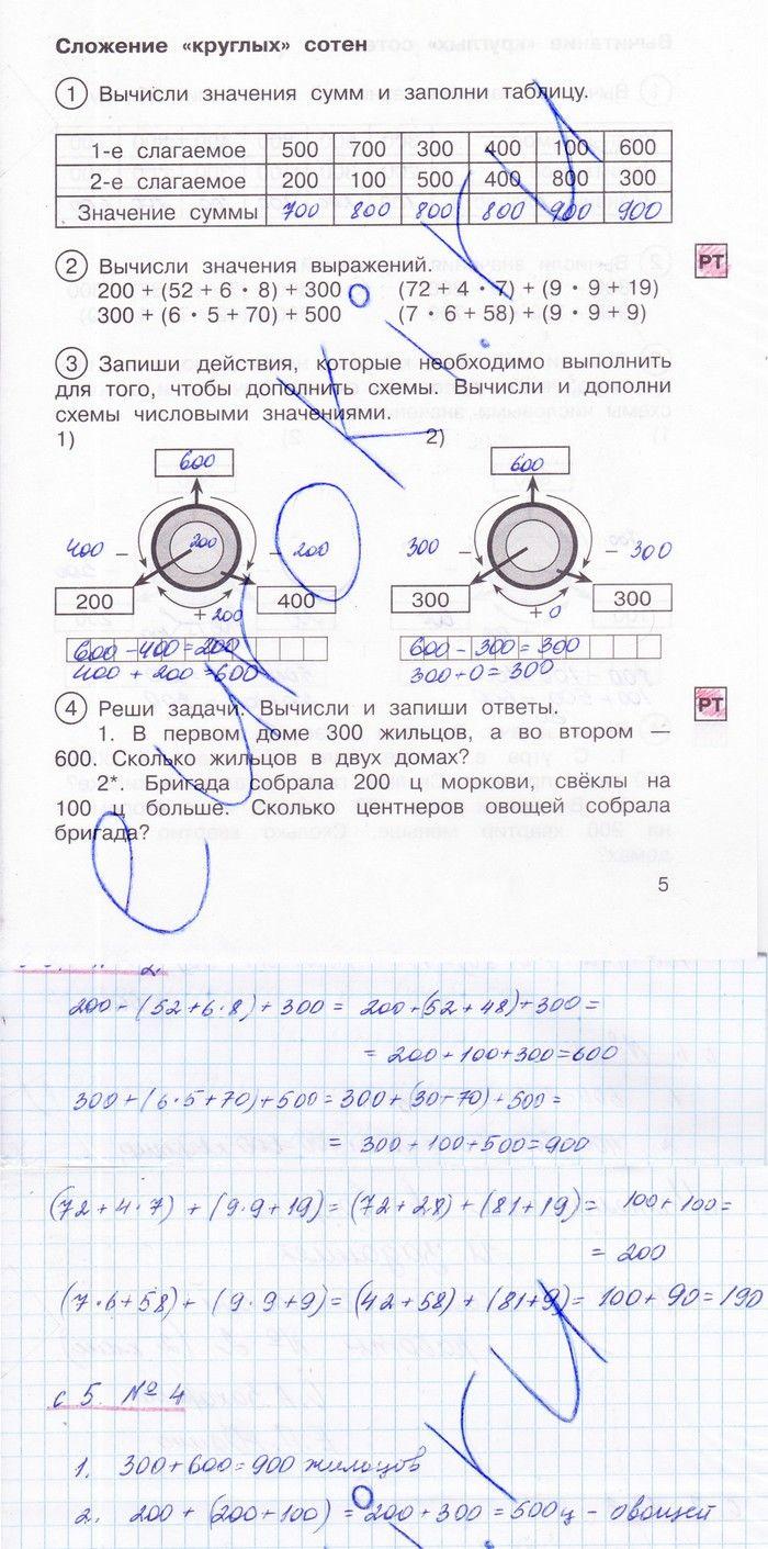 Ответы на решение задач 2 класс решение задачи по гидролиз солей