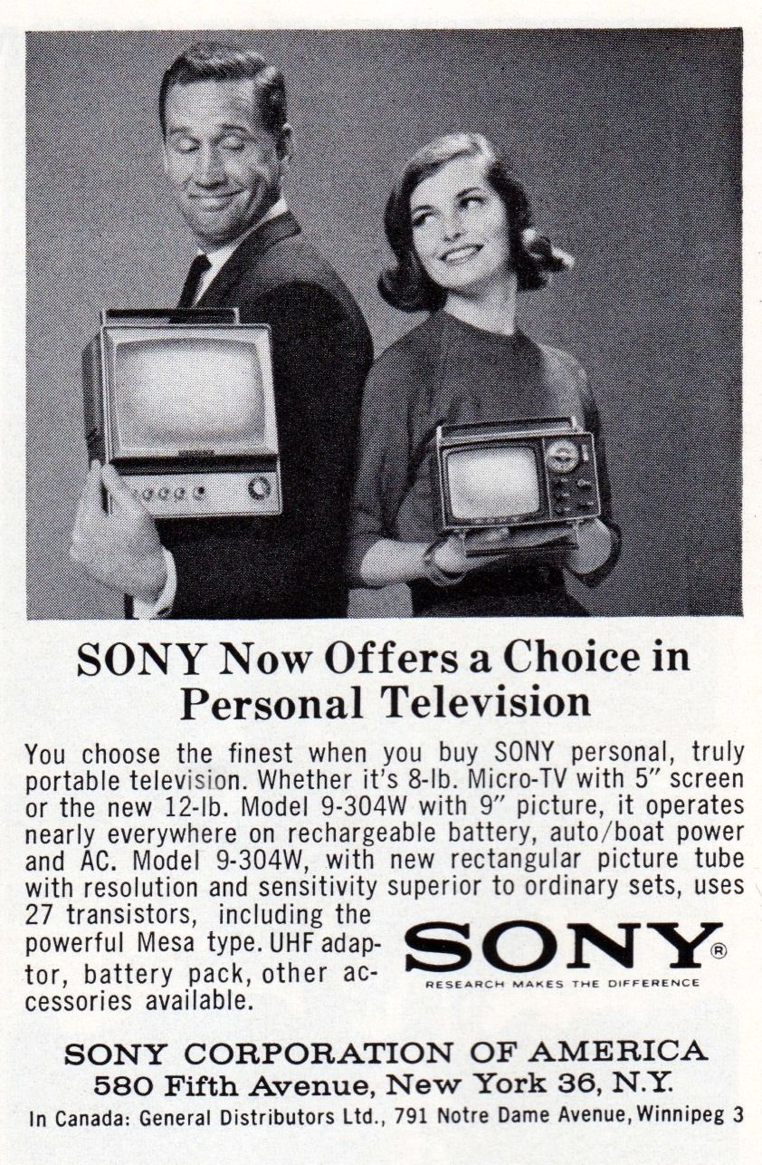 Sony Television (With images) | Advertising history ...