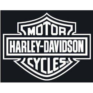 HARLEY DAVIDSON X White VINYL StickerDecal MotorcyclesBikes - Stickers for motorcycles harley davidsons