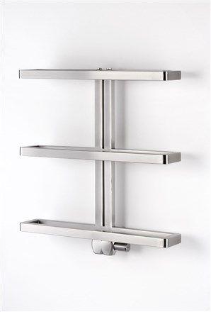 Aeon Gallant Stainless Steel Designer Heated Towel Rails  Casa Interesting Designer Heated Towel Rails For Bathrooms Decorating Design
