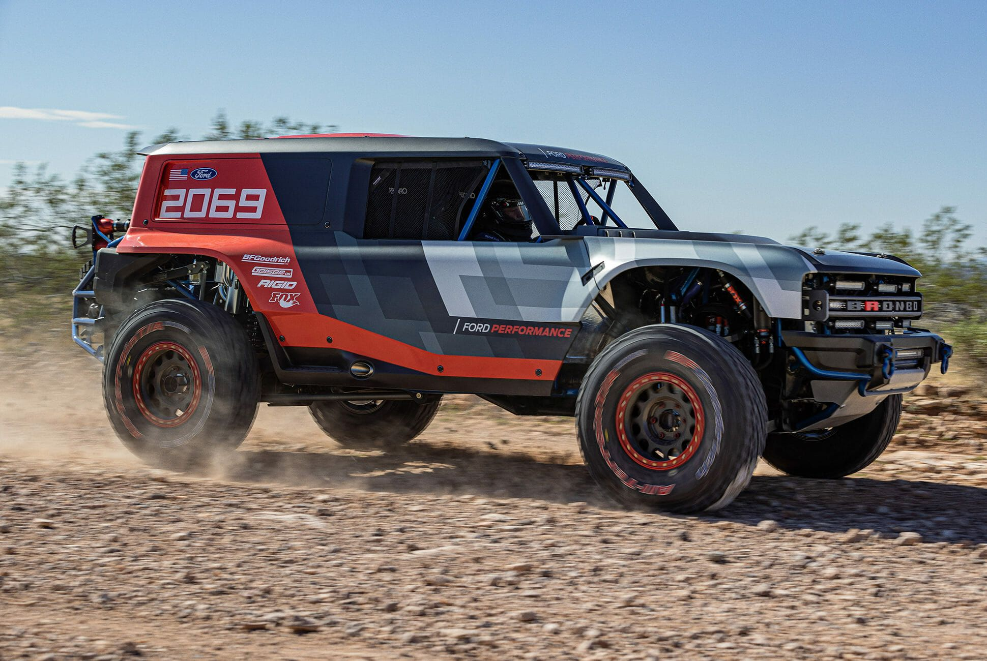 This Badass Race Truck Is Our First Real Look At The New Ford Bronco Ford Bronco New Bronco Bronco
