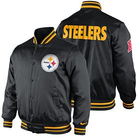 uk availability 3afe7 e9c1c Get this Pittsburgh Steelers Snap Front Start Again Jacket ...