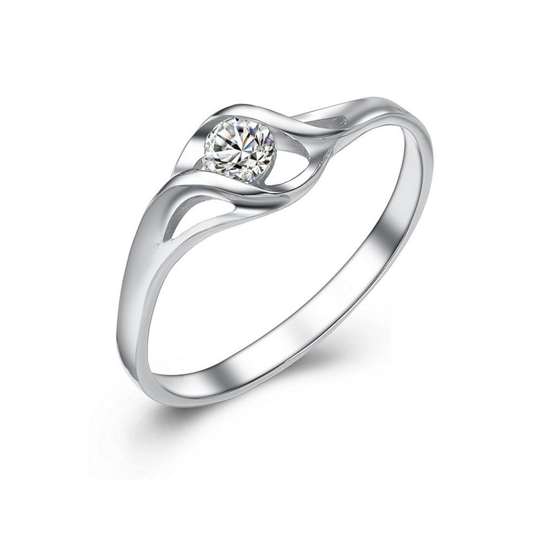 50+ Best Minimalist Engagement Rings with Simple Designs ...