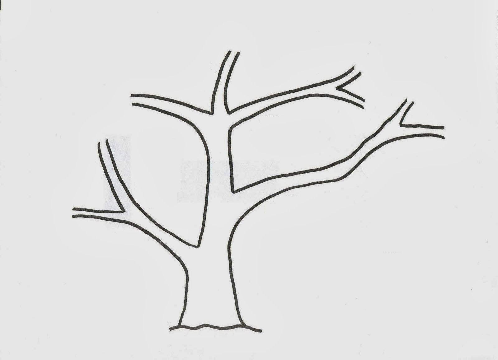 Molde de arbol   ✏(M)✓   Pinterest   Molde, Árboles de otoño y Otoño