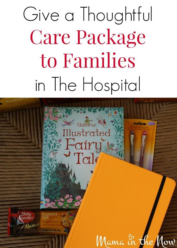 Give a Sweet Care Package to Families in the Hospital care package h...