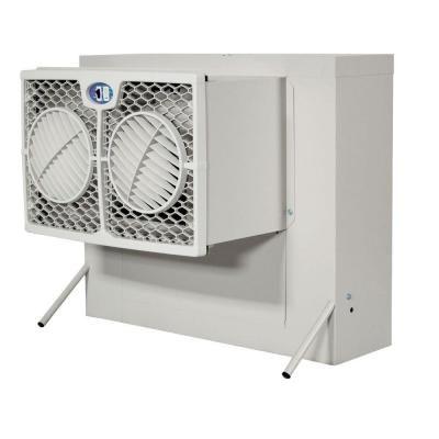 Brisa 2800 Cfm 2 Speed Front Discharge Window Evaporative