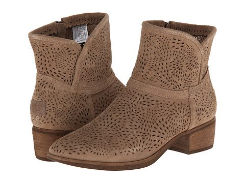 UGG Darling Seaweed Perf Fawn Suede - Zappos.com Free Shipping BOTH Ways