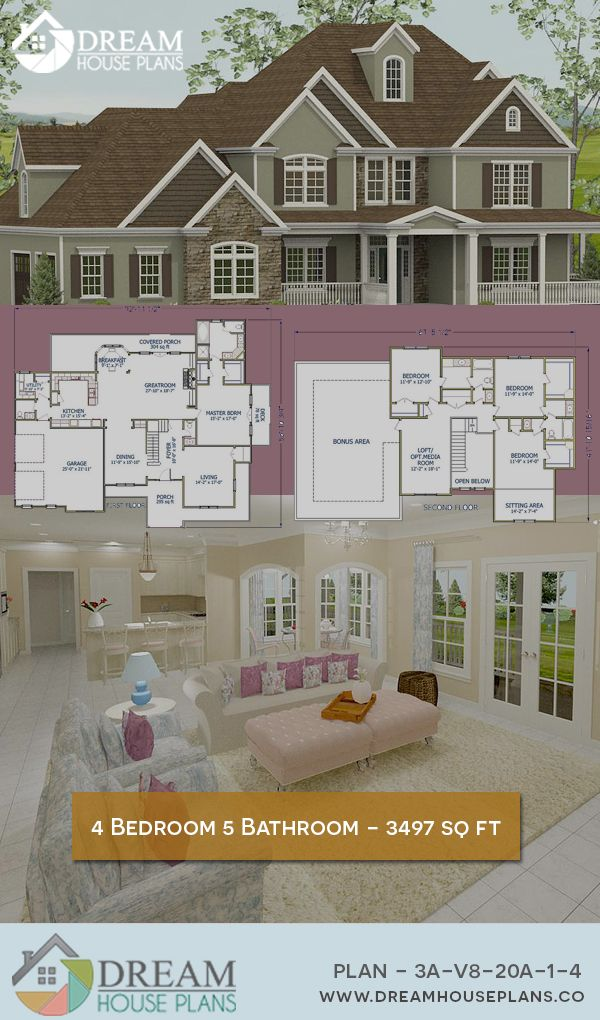 Dream House Plans Affordable yet luxury Southern