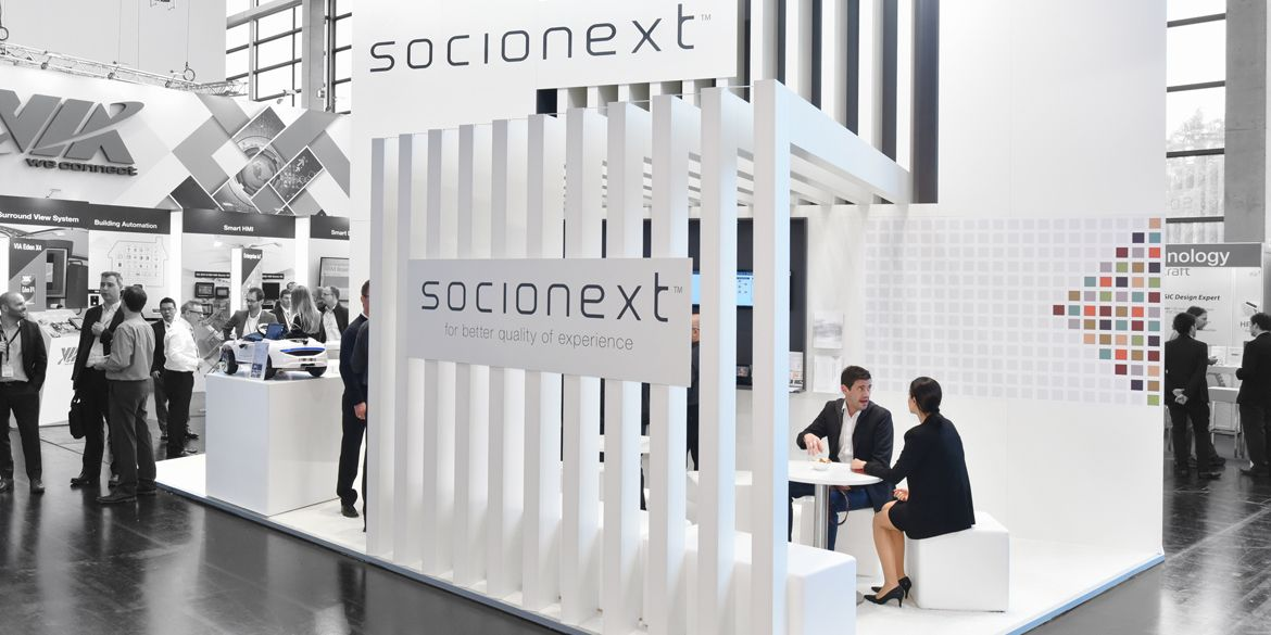 Bruns Messebau socionext - bruns messebau | exhibition stand | pinterest