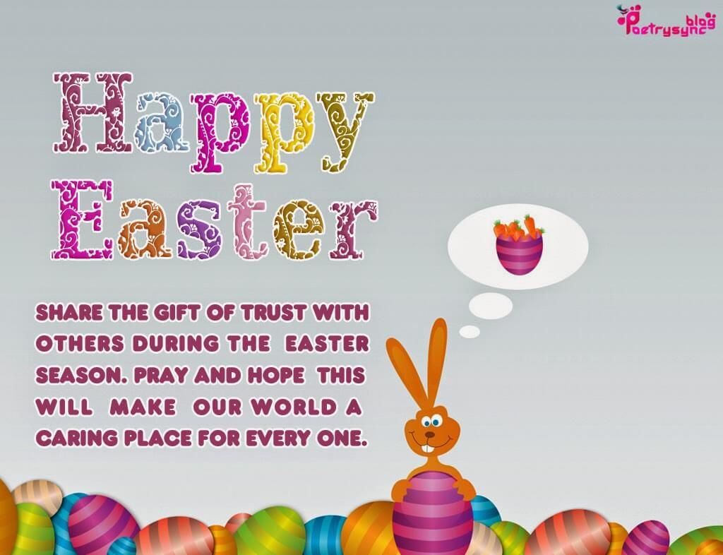 Pin by jitendra singh on happy easter images pinterest happy happy easter wishes picture cards with greetings messages m4hsunfo