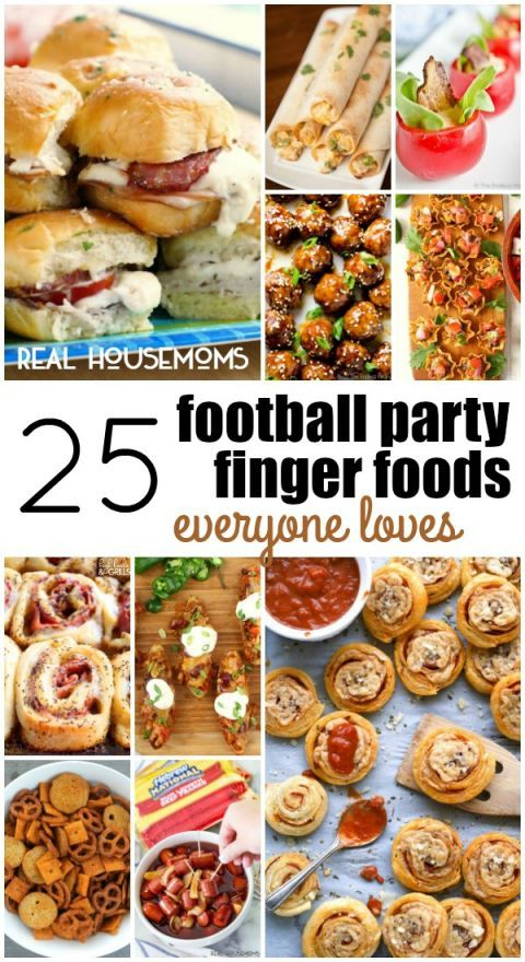 25 Football Party Finger Foods Everyone Loves