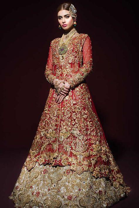82e0131809 Tena Durrani Bridal Dresses Collection 2017 | Bridals | Anarkali ...