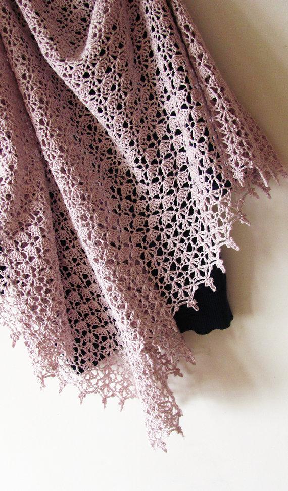 Baked Milk Shawl Crochet Pattern PDF | Schals, Stricken und Häkeln