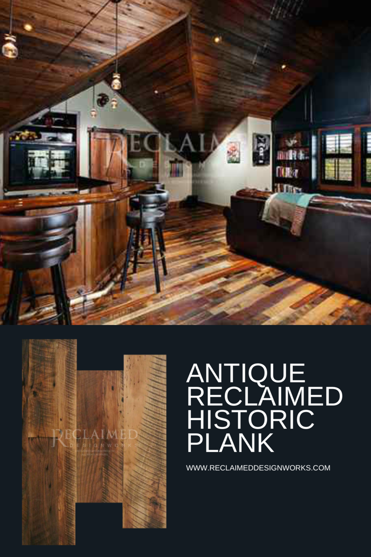 Love This Install Photo This Home Features Our Antique Historic Plank Hardwood Flooring It I Reclaimed Hardwood Flooring Wood Flooring Company Ceiling Design