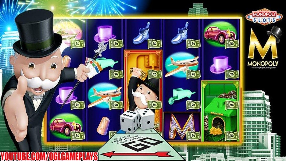 MONOPOLY Slots Android iOS Gameplay (By Scientific Games
