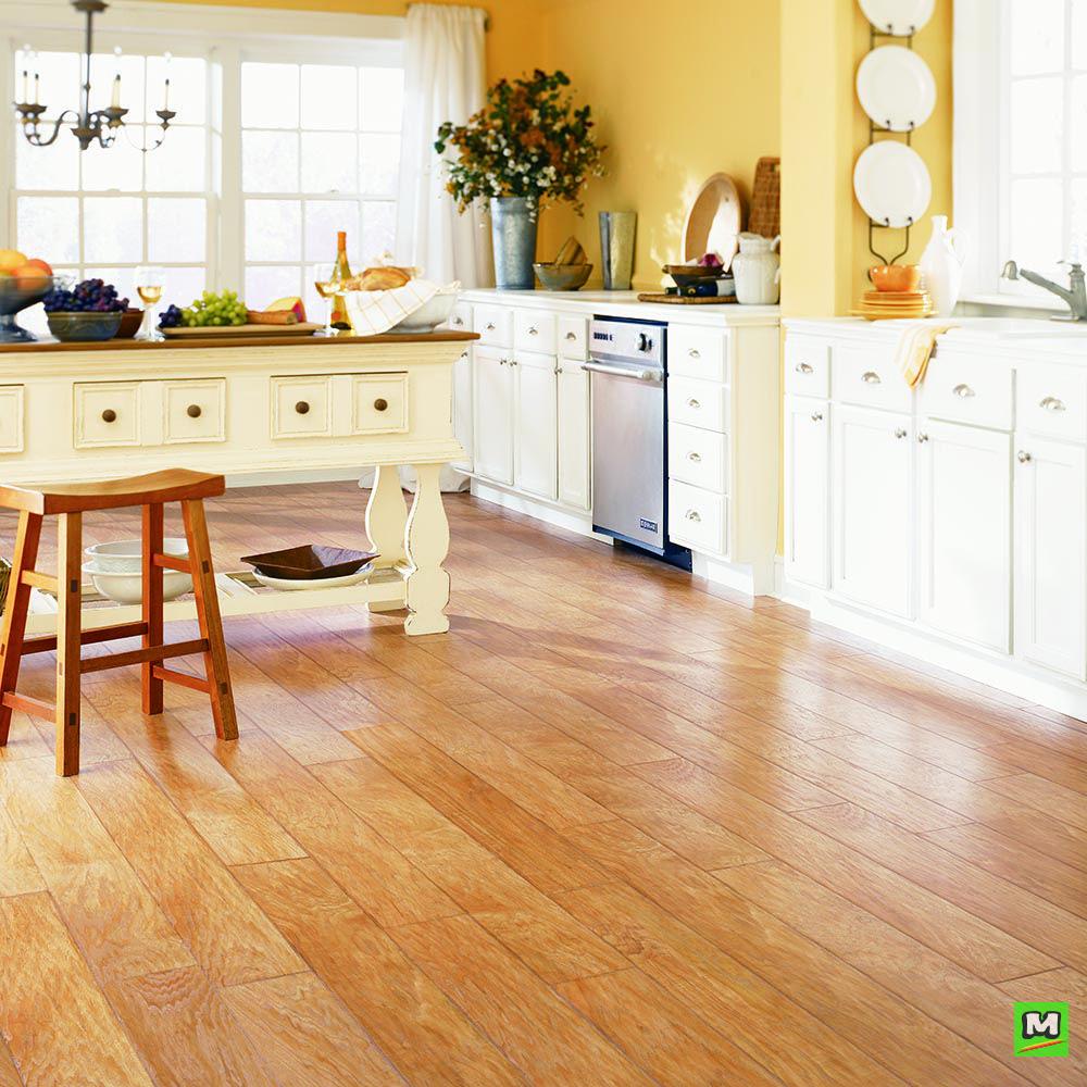 Mohawk® Milverton in natural pecan laminate flooring