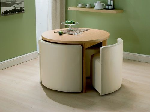 Space Saving Dining Table Chairs Space Saving Kitchen Table