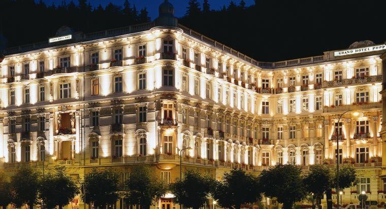 Grandhotel Pupp Karlovy Vary Czech Republic Prague Hotels Hotel Exterior Historic Hotels