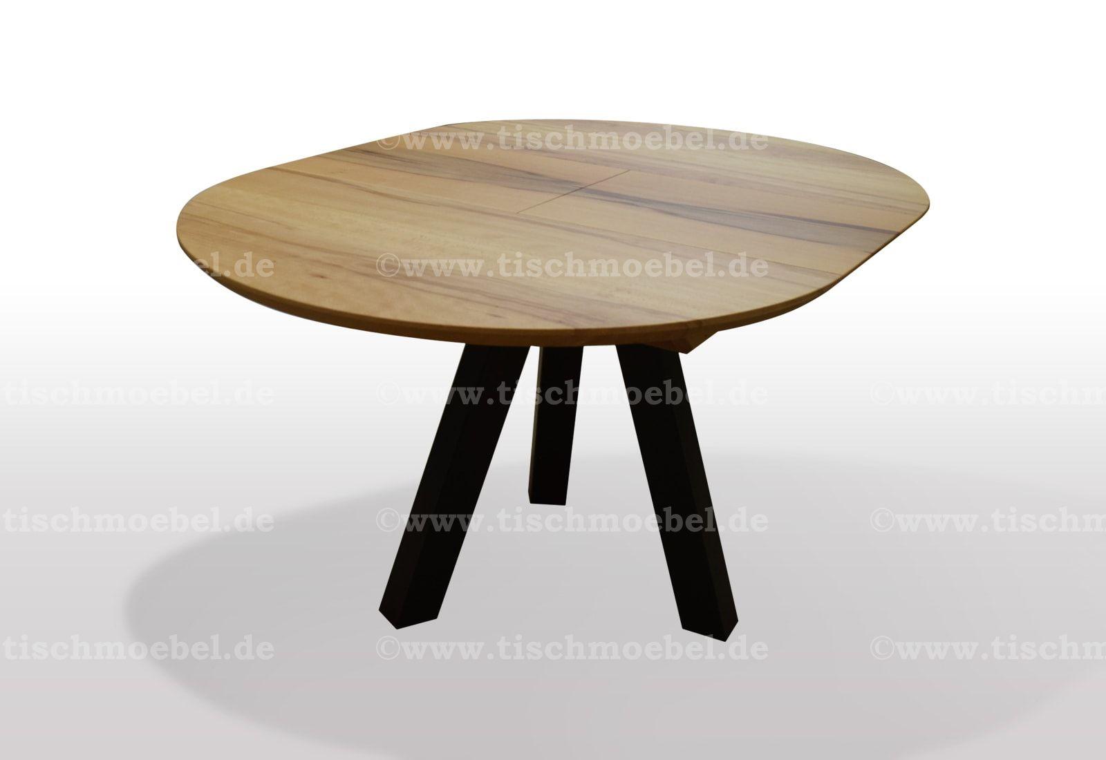 Runder Tisch 150 Cm Gartentisch Palermo 90x150 Glas Schwarz