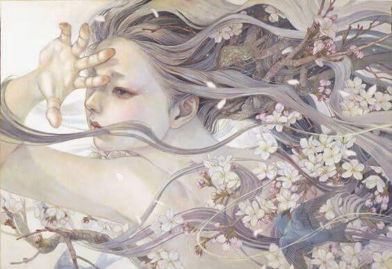 Las heridas más profundas no las hacen los cuchillos afilados | Pinturas de  fantasía, Arte japones, Arte japonés
