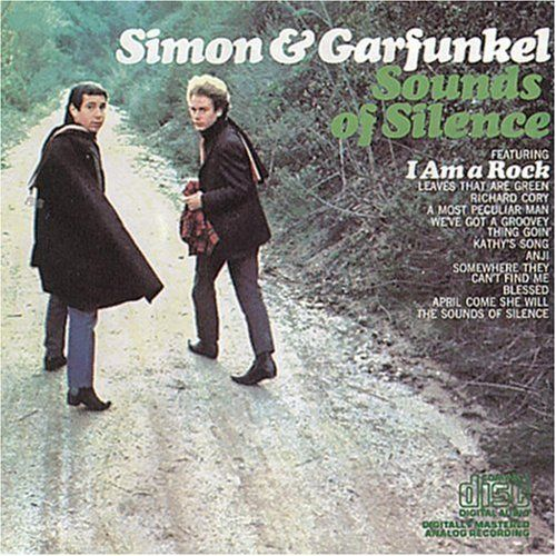 Simon and Garfunkel were one of the most popular groups during the 60s. Some songs from their Sounds of Silence album was used in the iconic movie, The Graduate, and the single even reached number one on the Billboard top 100. The band recieved Grammy awards and was inducted into the Rock and Roll Hall of Fame in 1990. Although they were very popular, their fame was short lived and they broke up in 1970.