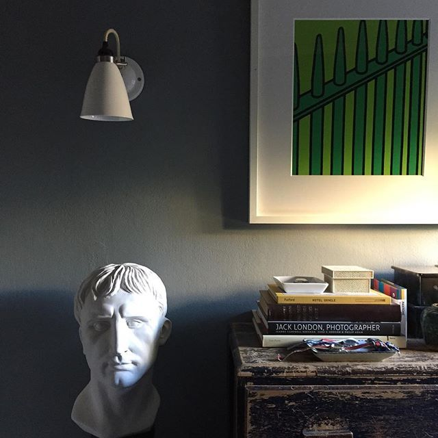 caesar in morning light. #patrickprintydesign #patrickprinty bust @oly. studio sconce @ & caesar in morning light. #patrickprintydesign #patrickprinty bust ...