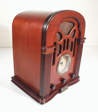 The invention of the radio made communicating news to