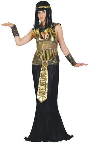 Cleopatra Traje Mujer de Egipcio Peluca vestido Para Egipto Traje Reina senoras pZfZHw