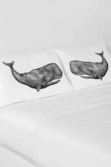 The Rise And Fall Whale Pillowcase - Set Of 2