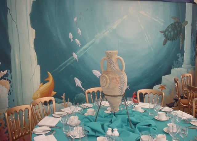 Underwater, Themed parties and Atlantis on Pinterest