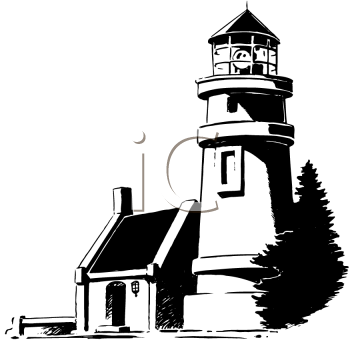Royalty Free Lighthouse Clipart | Light Houses coloring pages ...