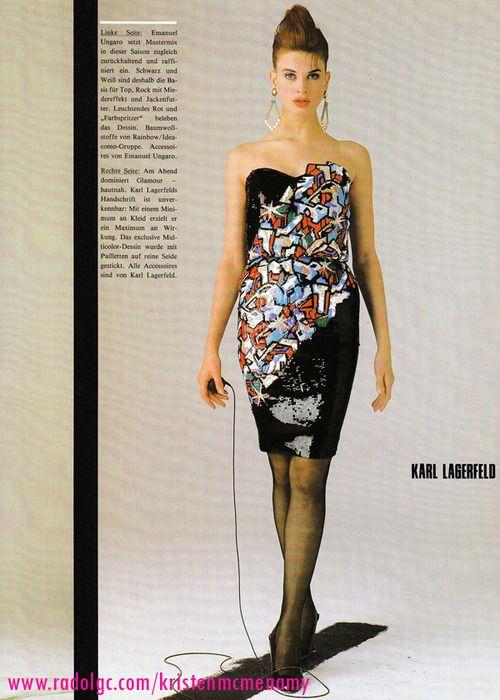 Karl Lagerfeld 1986