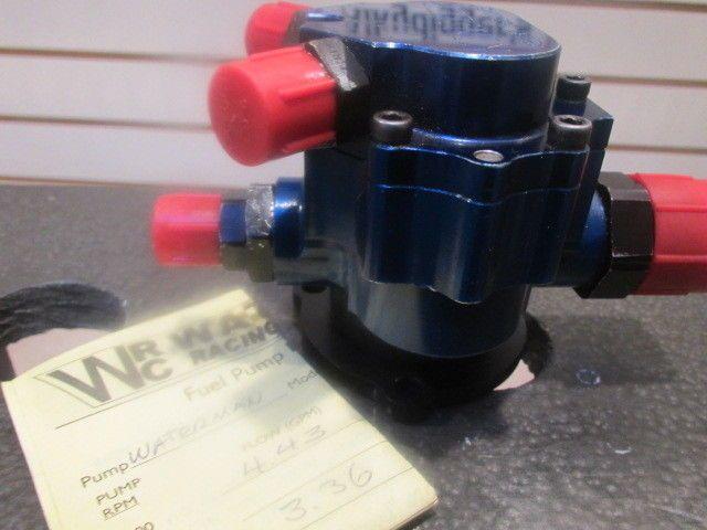 Waterman 450 Blue ( Kinsler ) Fuel pump - Flowed by Waterman