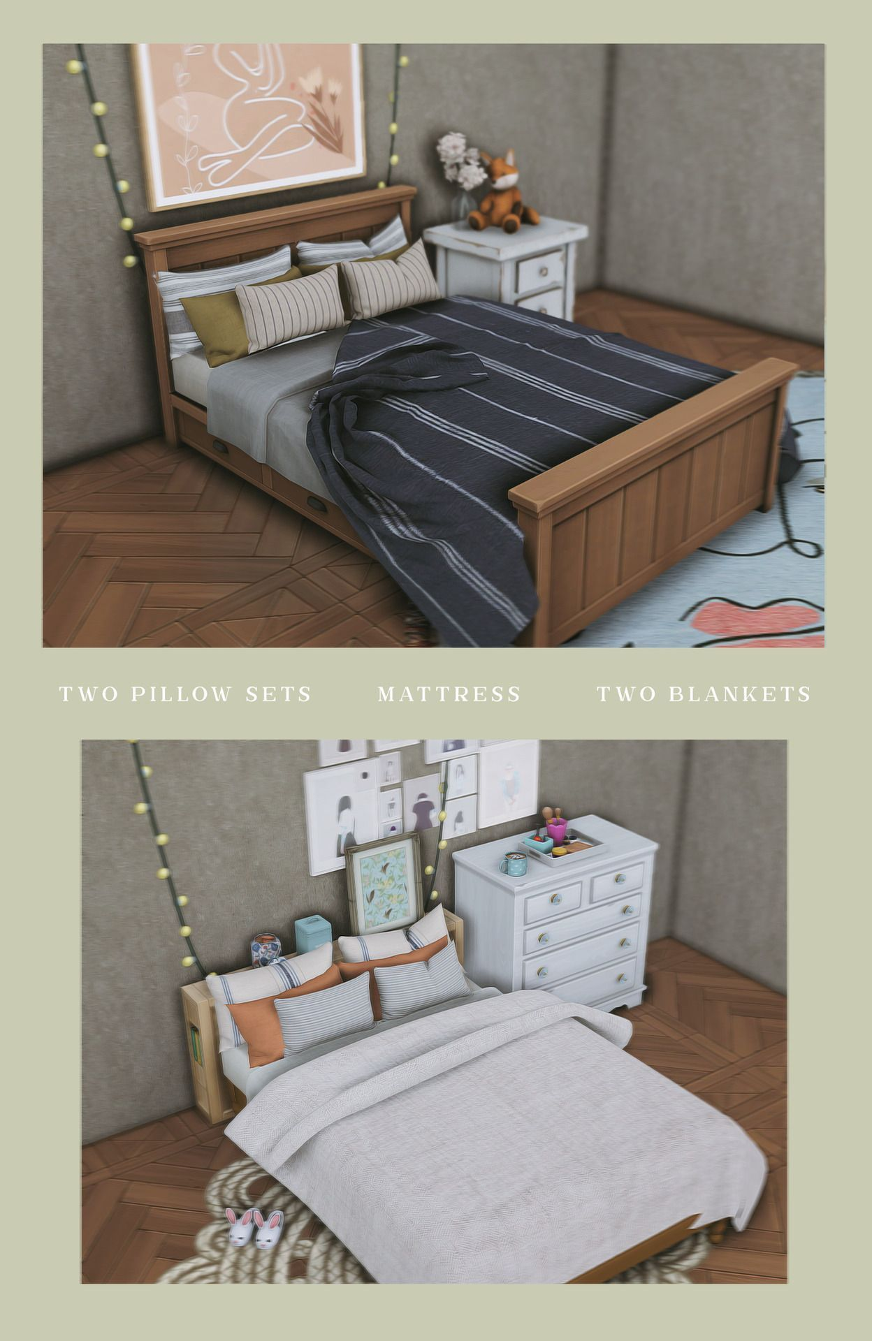 Building A Gaming Pc 455708056049175580 Custom Content By Honeycuts Source By R2dm00n In 2020 Sims 4 Bedroom Sims 4 Beds Sims 4 Cc Furniture