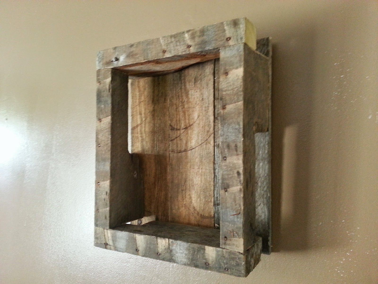 Shadow Boxes On Reclaimed Wood. #Reclaimed #Recycled