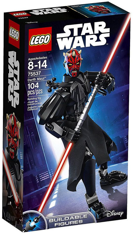 lego star wars 75537 dark maul buildable figures. Black Bedroom Furniture Sets. Home Design Ideas