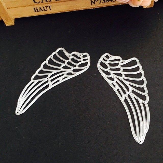 Angel Wings Metal Cutting Die for Scrapbooking Album Embossing Paper Card Crafts