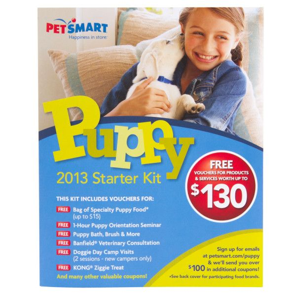 Welcome The New Puppy To Your Family With The Petsmart 2013 Puppy