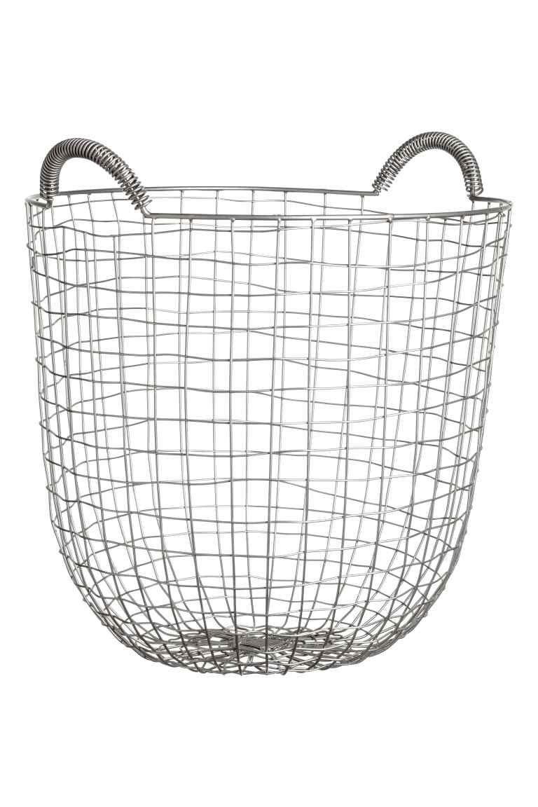 Large wire basket | Wire baskets, Large wire basket, Basket