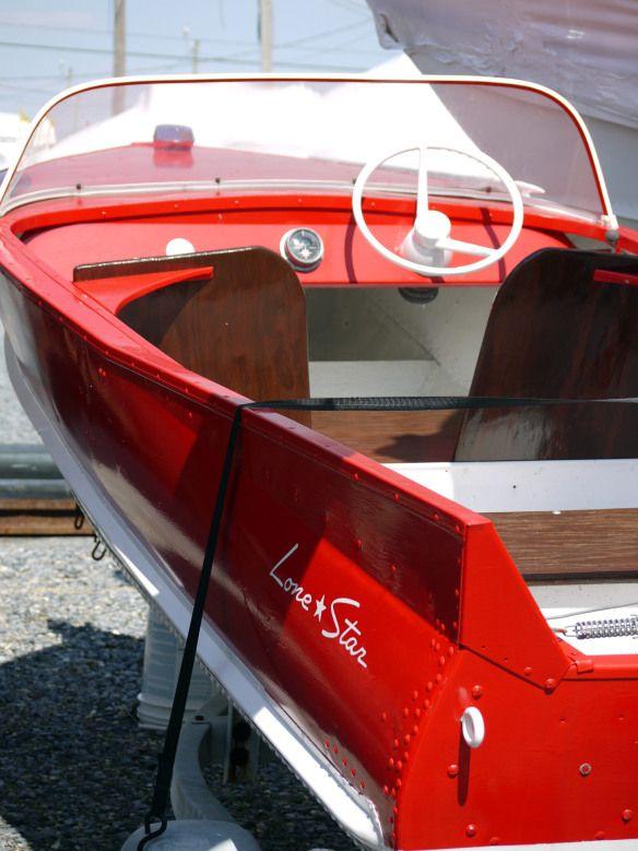 50s Lone Star Aluminum Boat Vintage Boats Aluminum