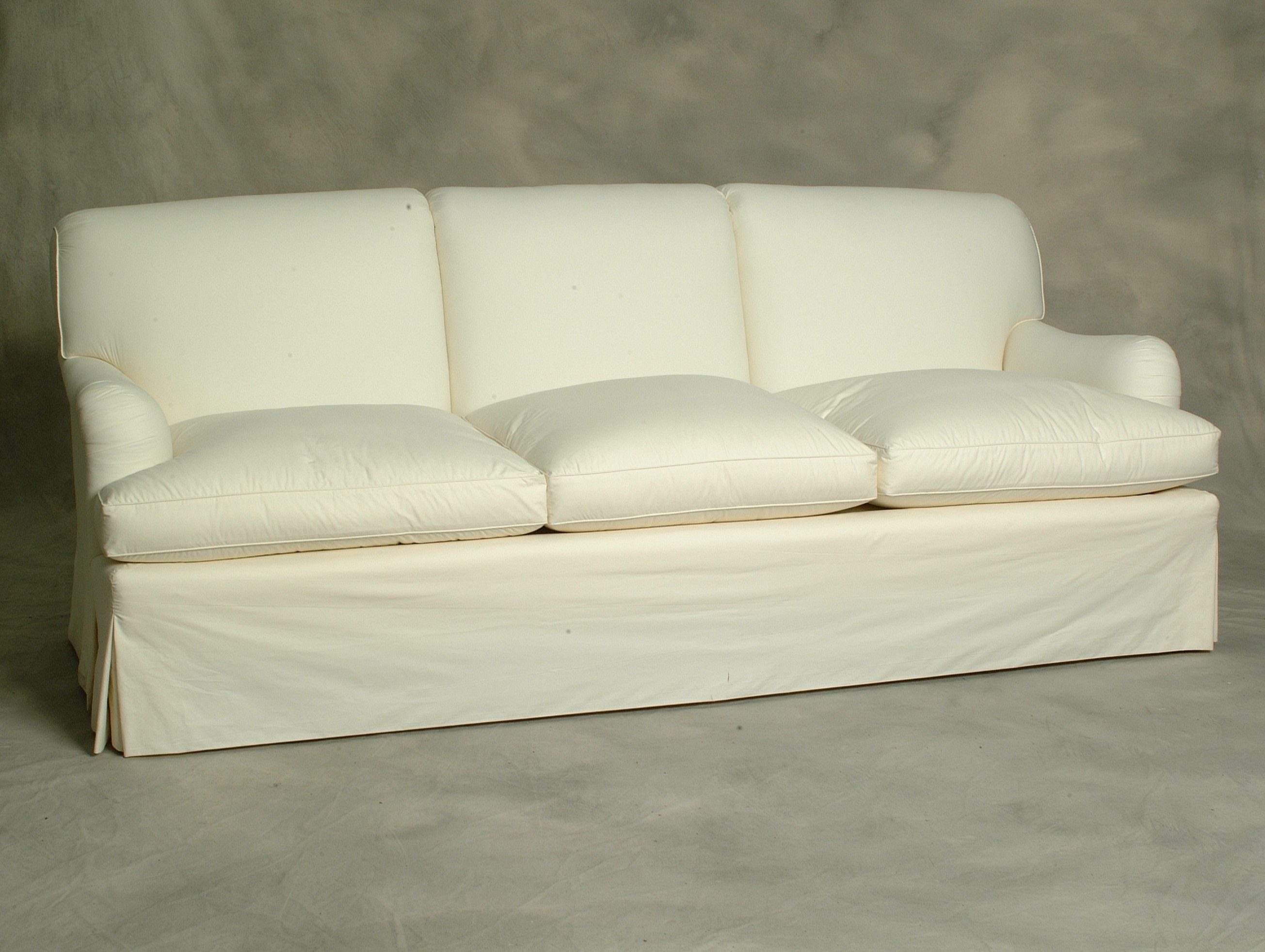 One Of The Most Comfortable Sofas The Tight Fitted Scrolled Back